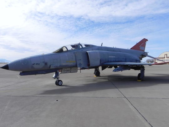 This F-4 at Holloman Air Force Base was saved from the chopping block and has been requested by the City of Alamogordo for a static display honoring the military. Currently, the city is waiting for the General Services Administration's decision.