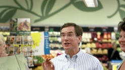 David Dillon in a Kroger store.