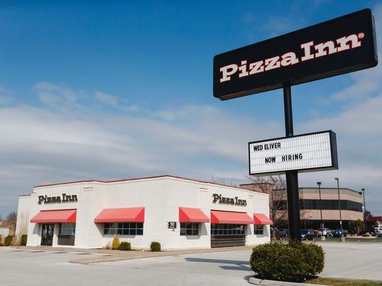 The Pizza Inn restaurant at 1425 W. Battlefield Road