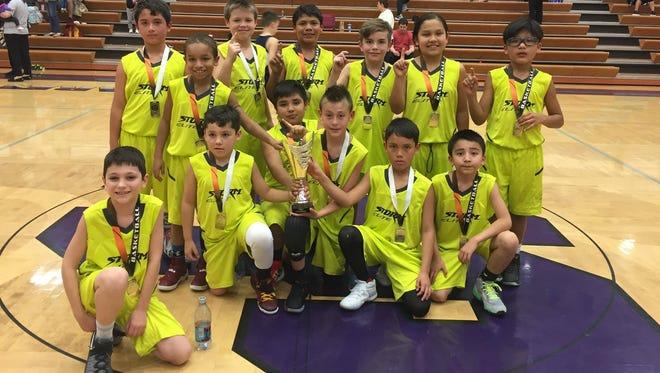 Cherokee's Storm Elite third-grade boys basketball team won the Pigeon Forge (Tenn.) March Madness tournament last weekend.