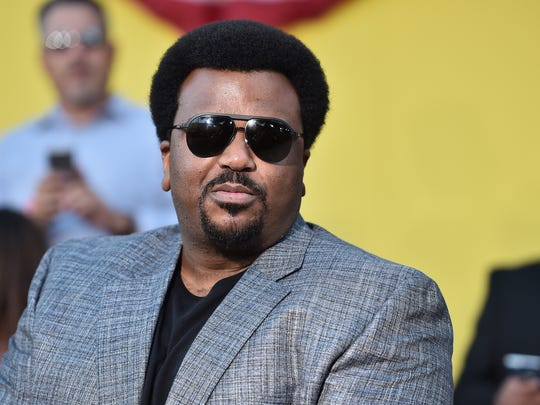 """Craig Robinson attends the premiere of """"Sausage Party"""" on Aug. 9, 2016, in Westwood, Calif."""