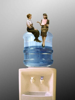 """Some topics are taboo in """"water cooler"""" conversations."""