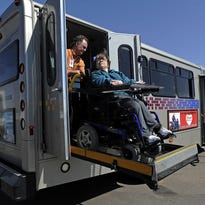 The transit board on Wednesday decided against raising the fare for paratransit riders.