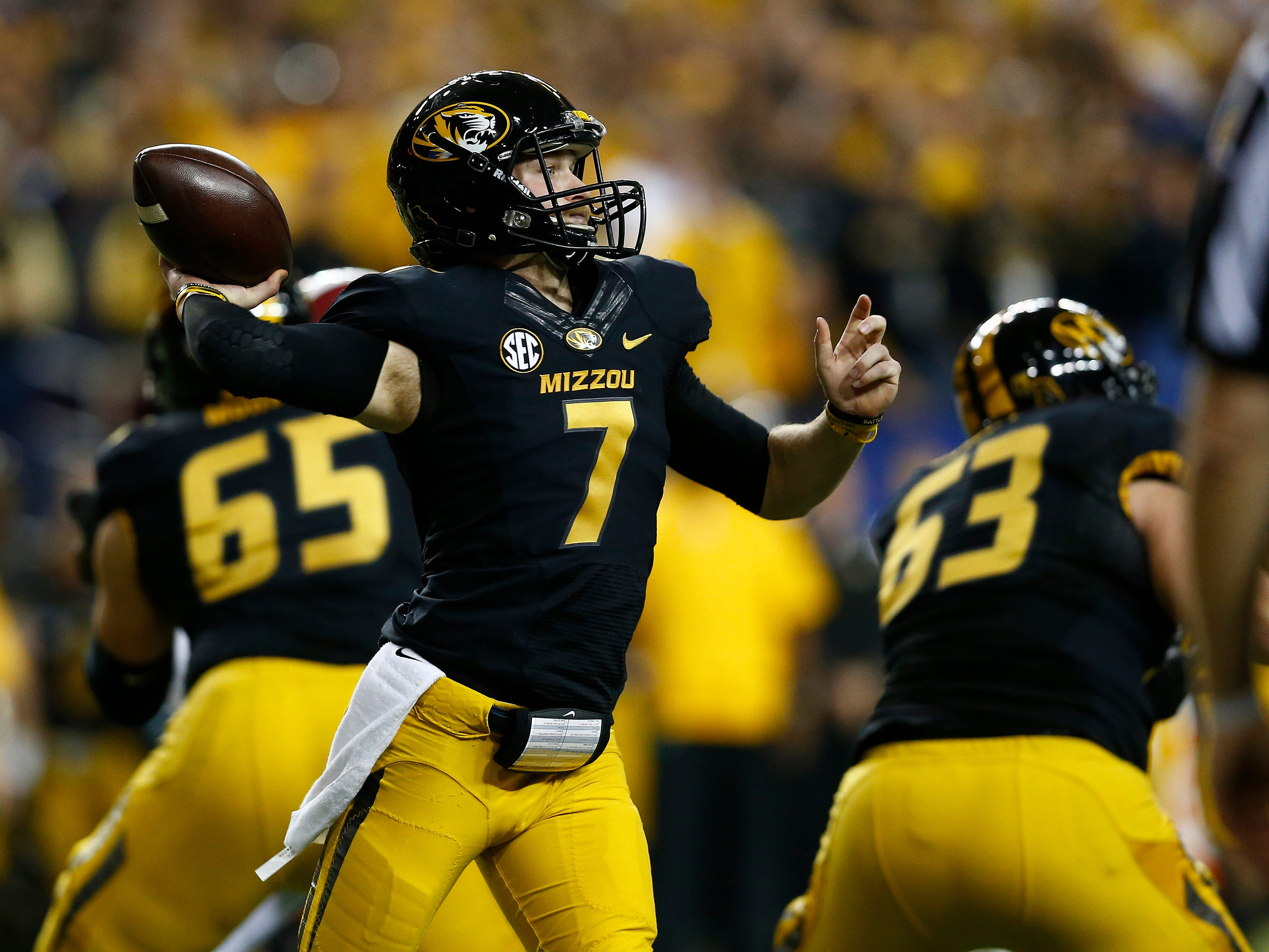 mauk single guys On the same day that florida freshman will grier was suspended indefinitely, missouri coach gary pinkel confirmed that junior quarterback maty mauk will miss his third straight game on saturday.