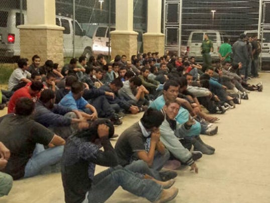 Detention Centers Overflow With Kids Crossing Border