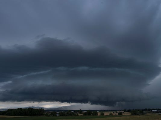 Summer storms in Fort Collins