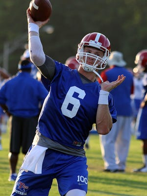 Louisiana Tech quarterback Jeff Driskel has helped the senior class get to eight wins this year.