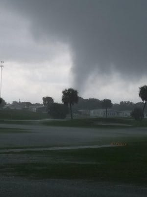 The National Weather Service confirmed touchdown of a tornado Tuesday afternoon in south Brevard.
