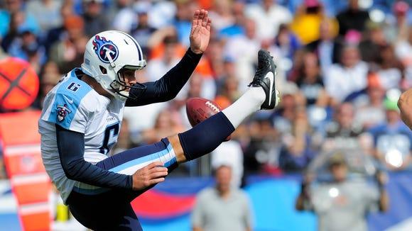 Brett Kern was one of the NFL's best punters last season.