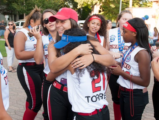 Vineland softball champs honored