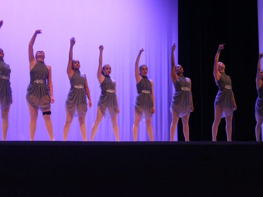 CHS Dance Company's senior class performed together during annual show.