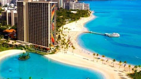The Hilton Hawaiian Village Waikiki Beach Resort, where Lake Worth Beach Mayor Pam Triolo and City Commissioner Andy Amoroso attended a U.S. Conference of Mayors gathering in June.