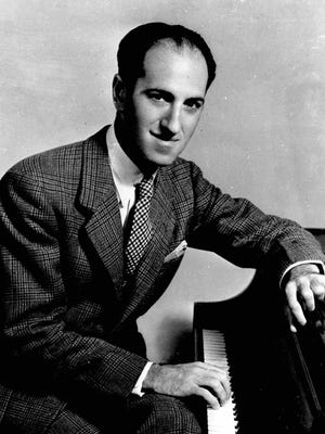 """George Gershwin composed such works as """"Rhapsody in Blue"""" and """"Porgy and Bess."""""""