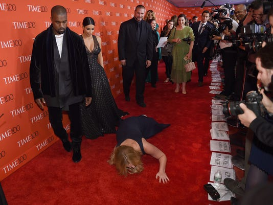 Amy Schumer, Kanye West, Kim Kardashian