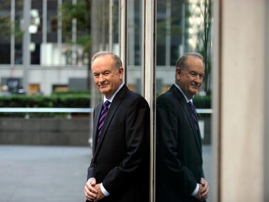 Bill O'Reilly in New York, Spet. 21, 2012.