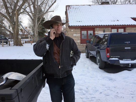 Ryan Bundy, one of Nevada rancher Cliven Bundy's sons,