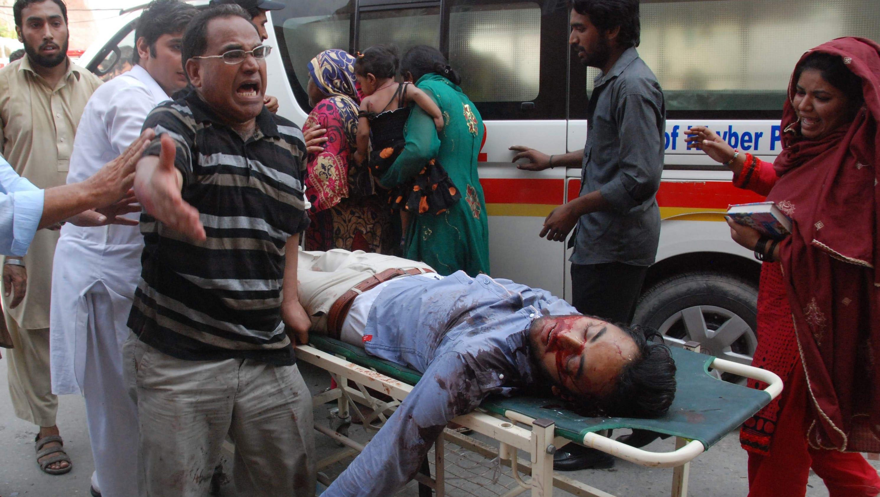 Taliban suicide bombing video