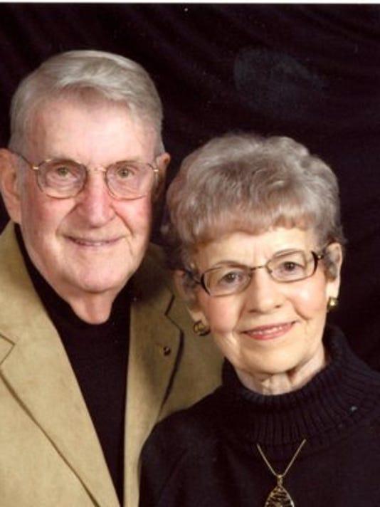 Anniversaries: George Kamstra & Phyllis Kamstra