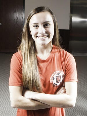 Courier News All-Area Girls Soccer Player of the Year.