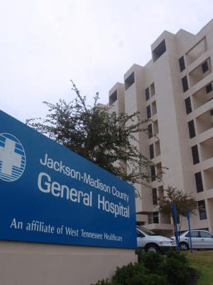 Sun file photo of Jackson-Madison County General Hospital.