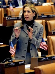 State Assemblywoman Amy Paulin, D-Scarsdale, said that Assembly Democrats oppose the education tax-credit legislation.
