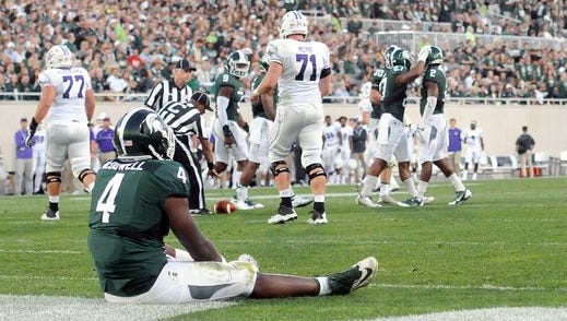 Michigan State's defense was challenged by Furman a bit more than expected in Friday night's season opener.