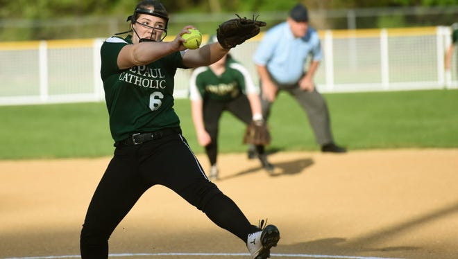 DePaul's Summer Ramundo struck out nine in a complete-game win over Wayne Valley.