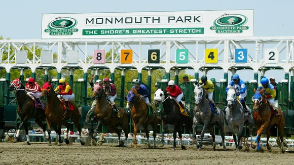 The thoroughbreds return to Monmouth Park on Saturday, May 13, 2017.