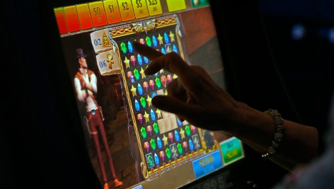 Pharaoh's Secret Temple is among the new video game gambling machines in Atlantic City casinos.