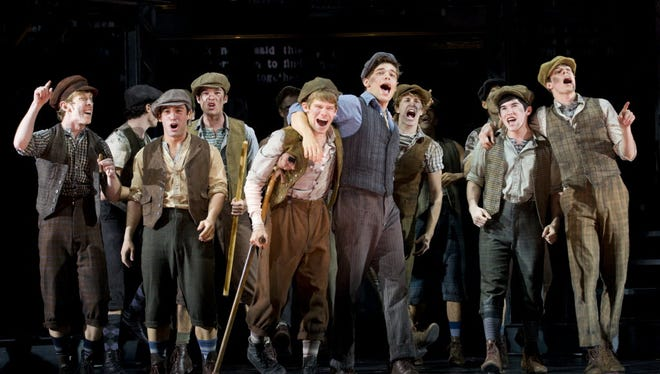"""Paperboys such as these ones from the musical """"Newsies""""  and ones that delivered to the home are a thing of a past. Columnist Joe Phalon remembers his time with a route."""