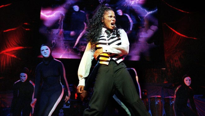 Janet Jackson will play Riverbend Music Center in July.