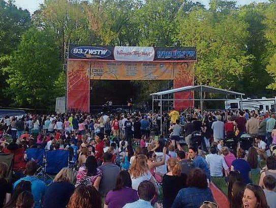 Wilmington Flower Market WSTW Concert Stage