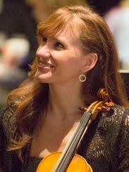 Concertmaster Denise Dillenbeck will have hr debut