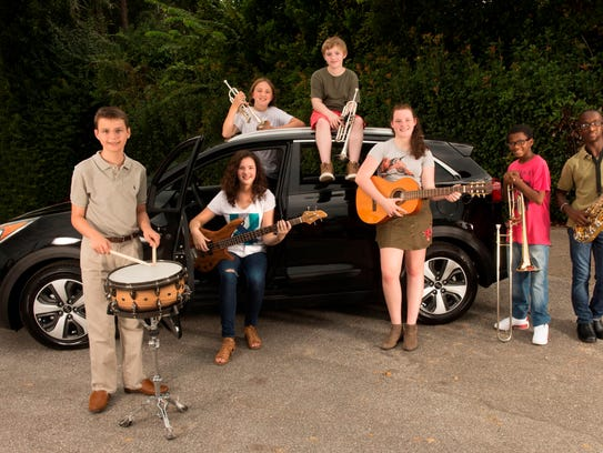 Musicians from Fairview Middle School are ready to