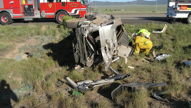 A Colorado man was killed Tuesday in a crash outside Parowan.