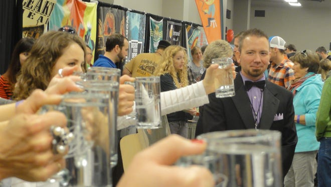 Cheers! Raise a glass at Beerfest