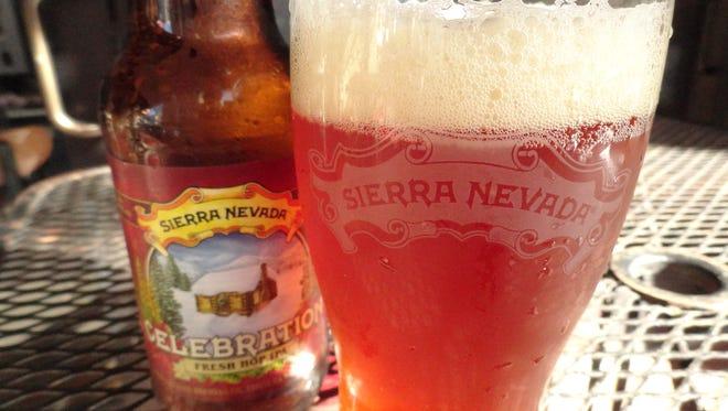 Sierra Nevada Celebration Ale.
