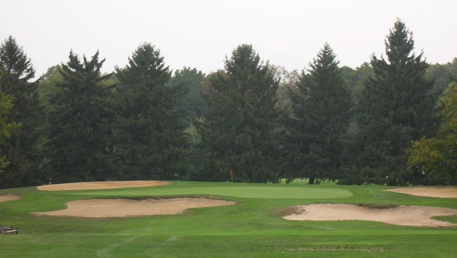 The ninth hold on the Red course at Ramblewood is shown in a file photo. The club was recently purchased by a partnership that includes former Philadelphia Eagle Ron Jaworski and Joe Flacco, an Audubon native and Baltimore Ravens quarterback.