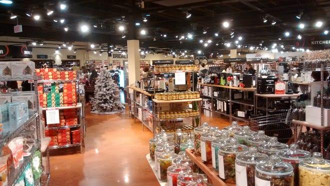 Interior of a Southern Season  store.