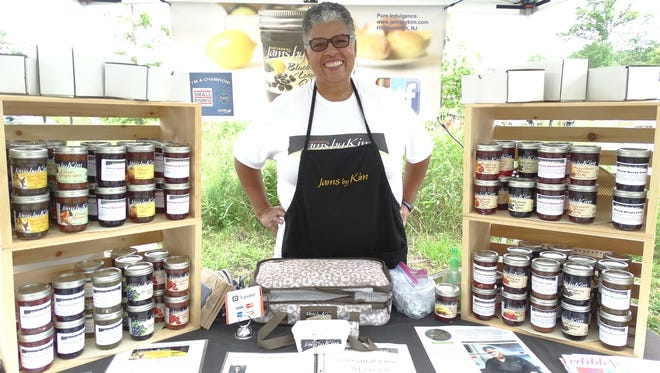 Jams by Kim owner Kim Osterhoudt offers nearly 40 sweet and savory flavors of her gourmet homemade jam.