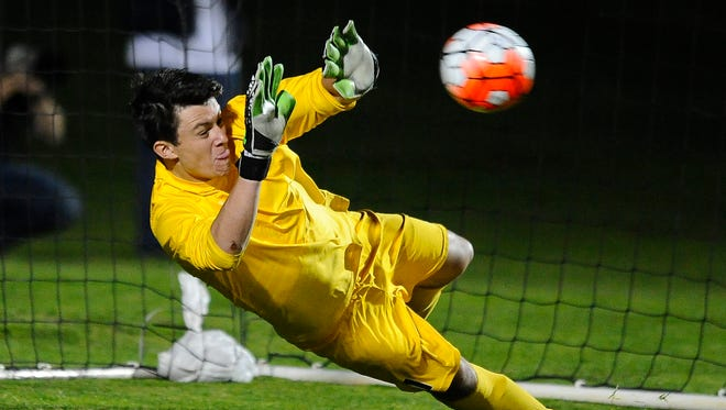 Bucks goalie Drew Shepherd earned his third consecutive shutout in a 1-0 victory over the Indy Eleven Wednesday.