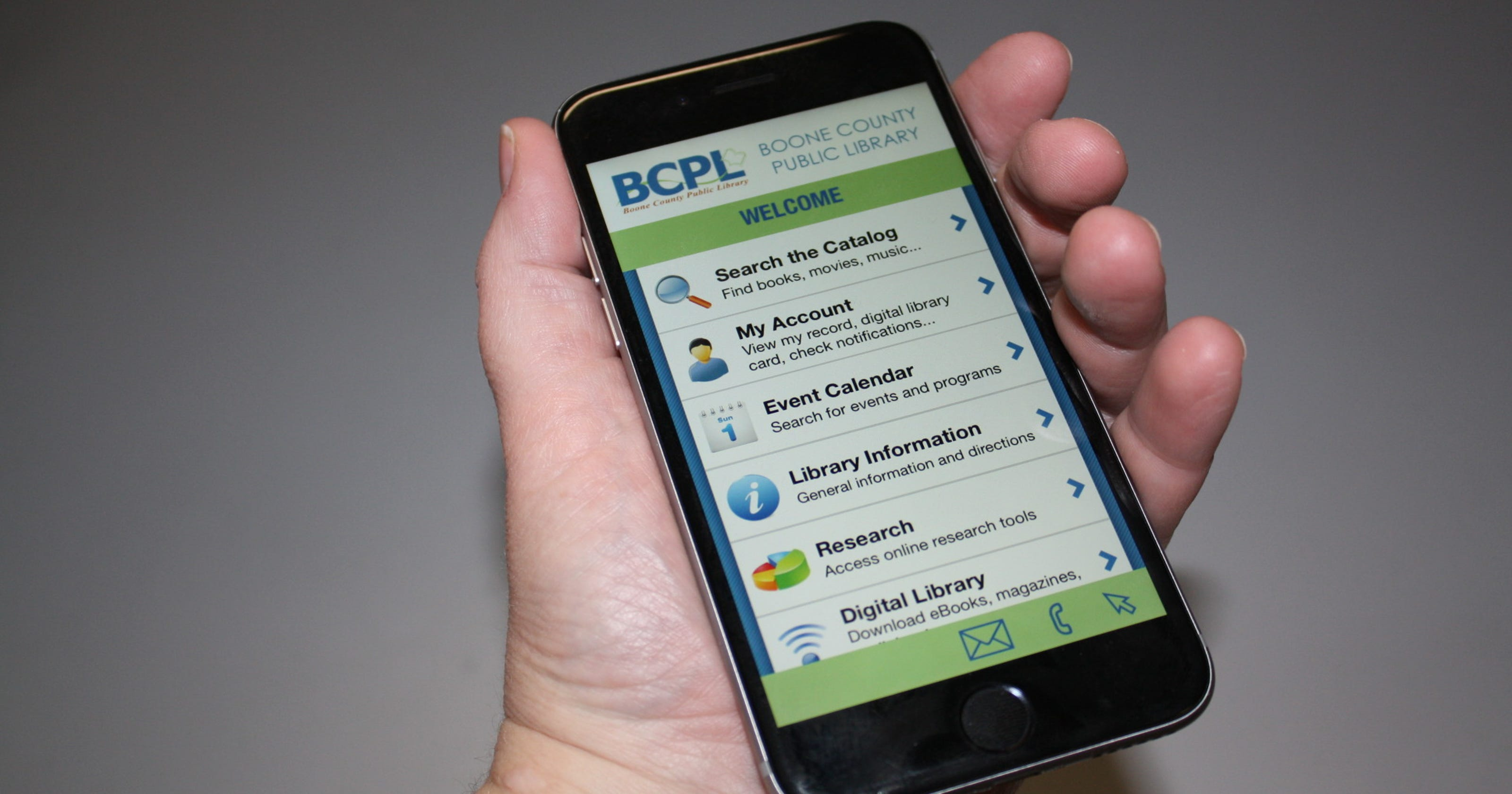 Boone Library offers free smartphone app