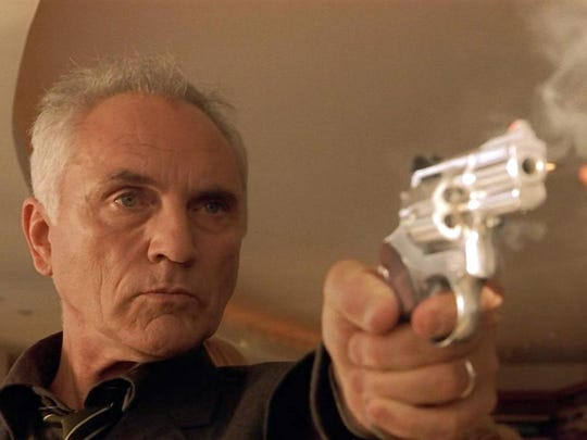 "Terence Stamp is out for revenge in ""The Limey."""