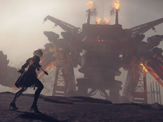 """Featuring impressive boss battles and a host of game mechanics that feel like a nod to gaming history, """"Nier: Automata"""" is one of the big surprises of 2017."""