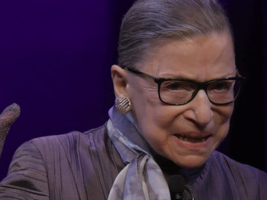 U.S. Supreme Court Justice Ruth Bader Ginsburg as seen