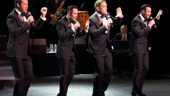 Human Nature performs during the event at the McCallum Theatre.