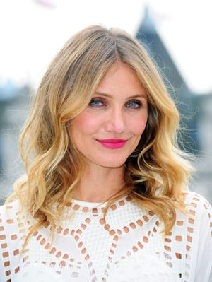 """Cameron Diaz attends a photocall for """"Sex Tape"""" at Corinthia Hotel London on September 3, 2014 in London, England."""
