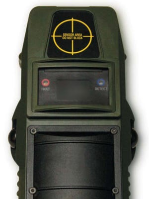 At least 50 U.S. law enforcement agencies use the handheld Range-R radar device, which can detect whether anyone is on the other side of a wall.
