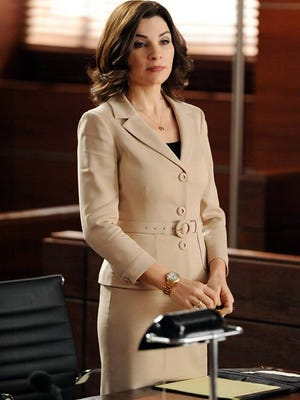 """Alicia Florrick, star of """"The Good Wife"""" brings new sophistication to career separates."""