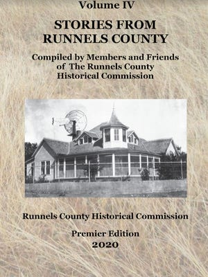 The Runnels County Historical Commission will release a Premier Edition of their new book on August 28, 2020.